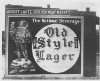 Old Style Lager mural